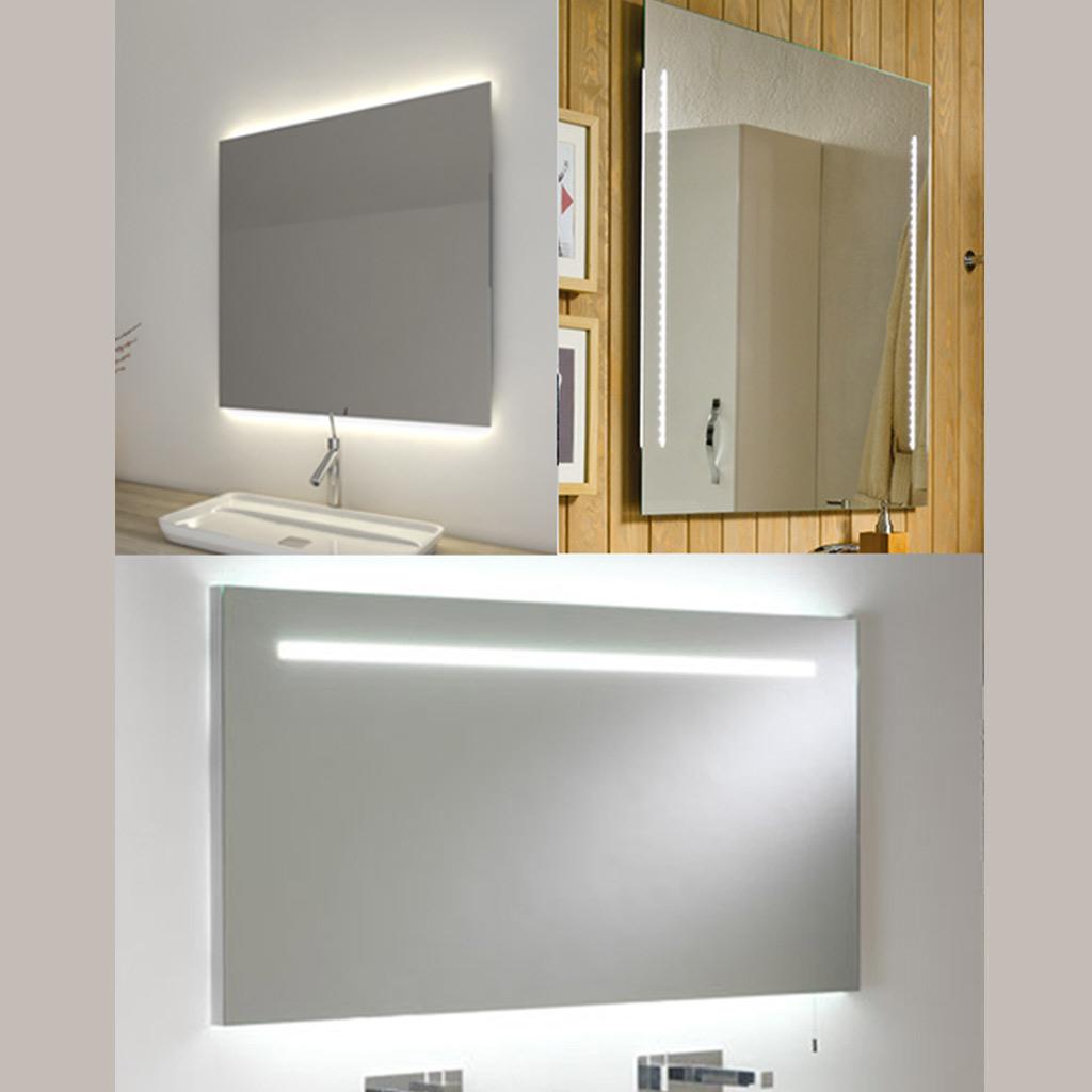 espejos iluminación leds