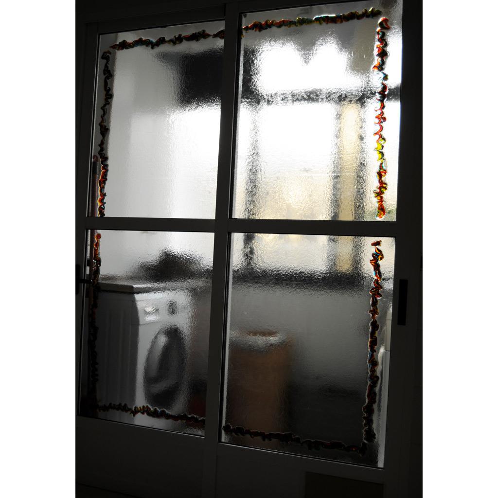 puerta corredera aluminio