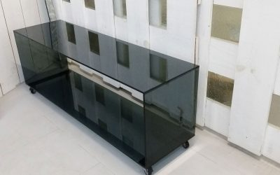 mueble en cristal